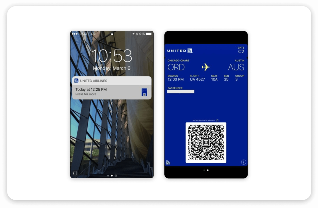 The boarding pass experience on today's phones has dramatically simplified an otherwise stressful process.